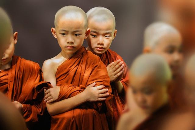 дети в тибете