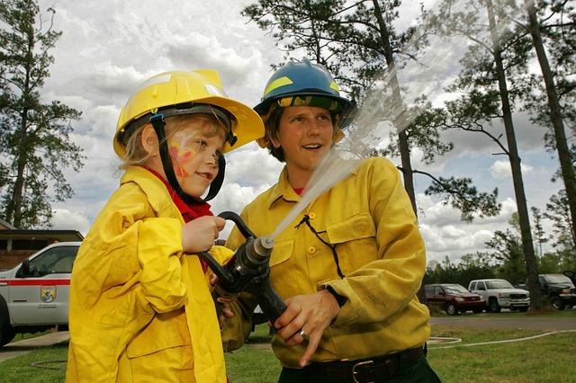 дети-пожарные