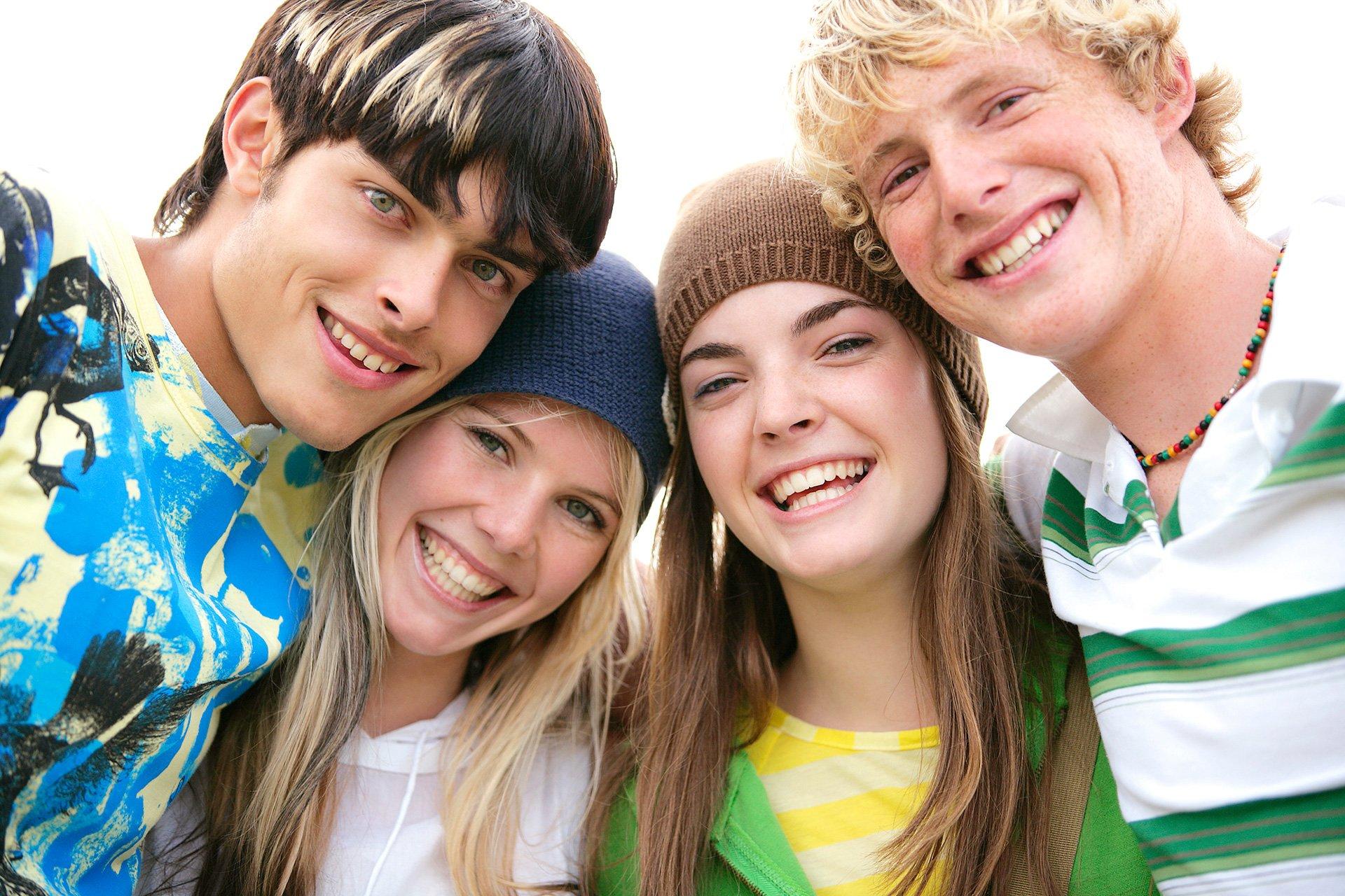 подростки