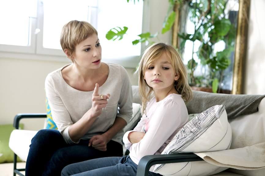 дочка и родители